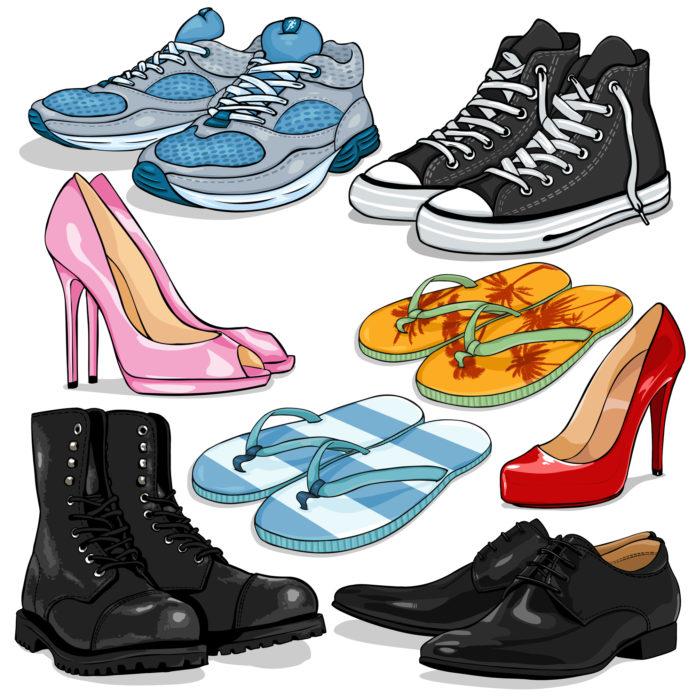 Tøj mode sko