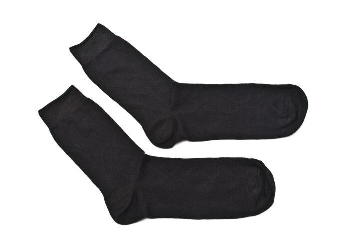 sorte strømper